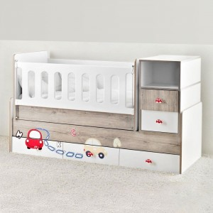 Kinderbett-mit-Schublade