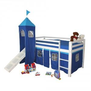 Kinderbett blau